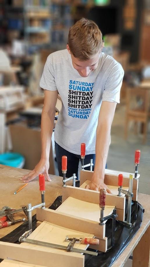 workshop houtbewerking - maak een mooie lijst voor uw schilderij of foto