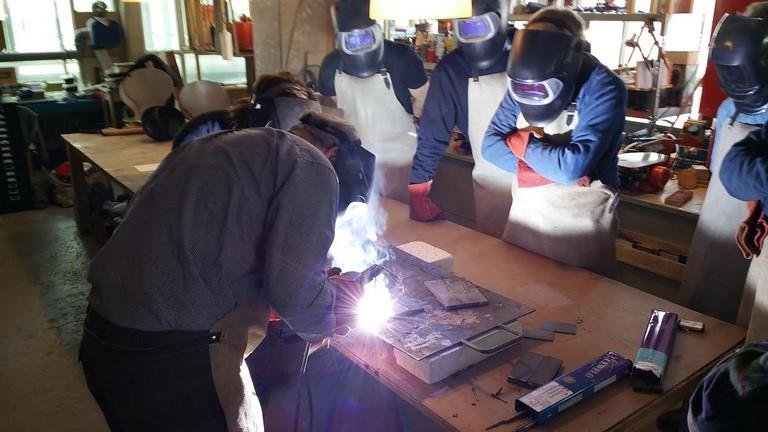 Workshop lassen bij BeQwaam Baarn